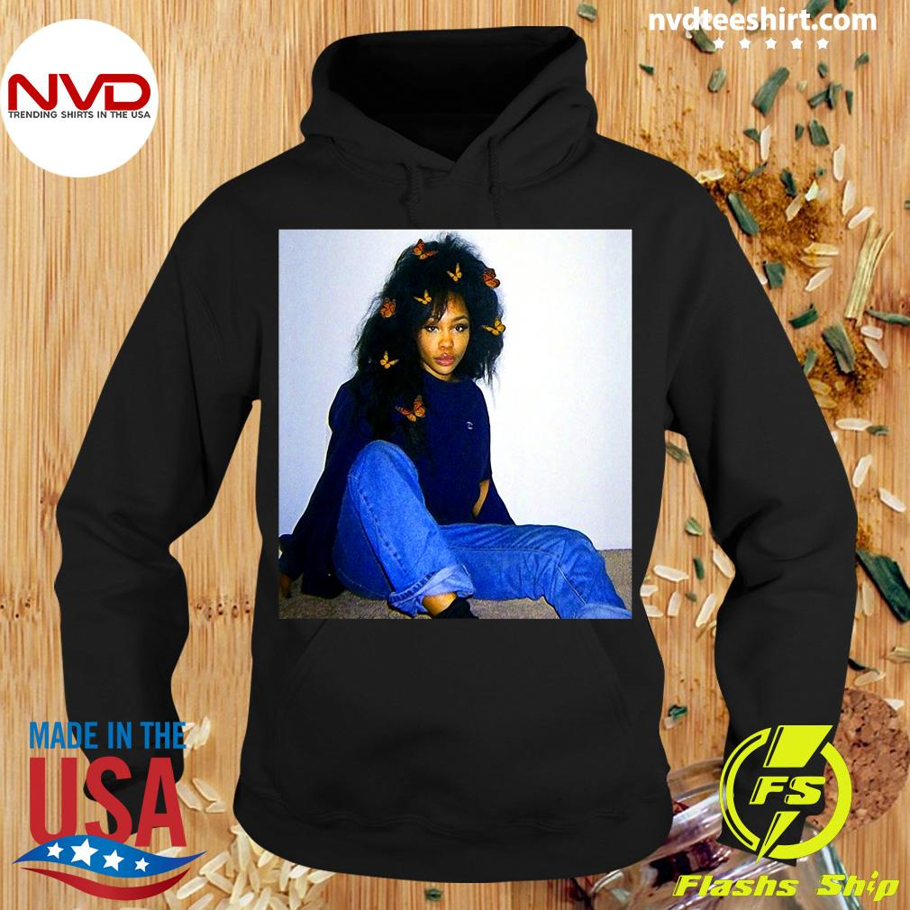 Official Graphic Sza's Distressed Arts Costume American Singers Music T-s Hoodie