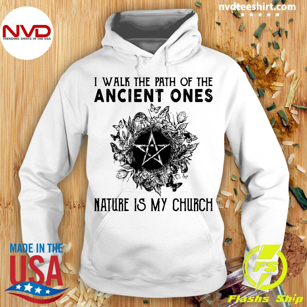 NVDTeeshirt - Official I Walk The Path Of The Ancient Ones