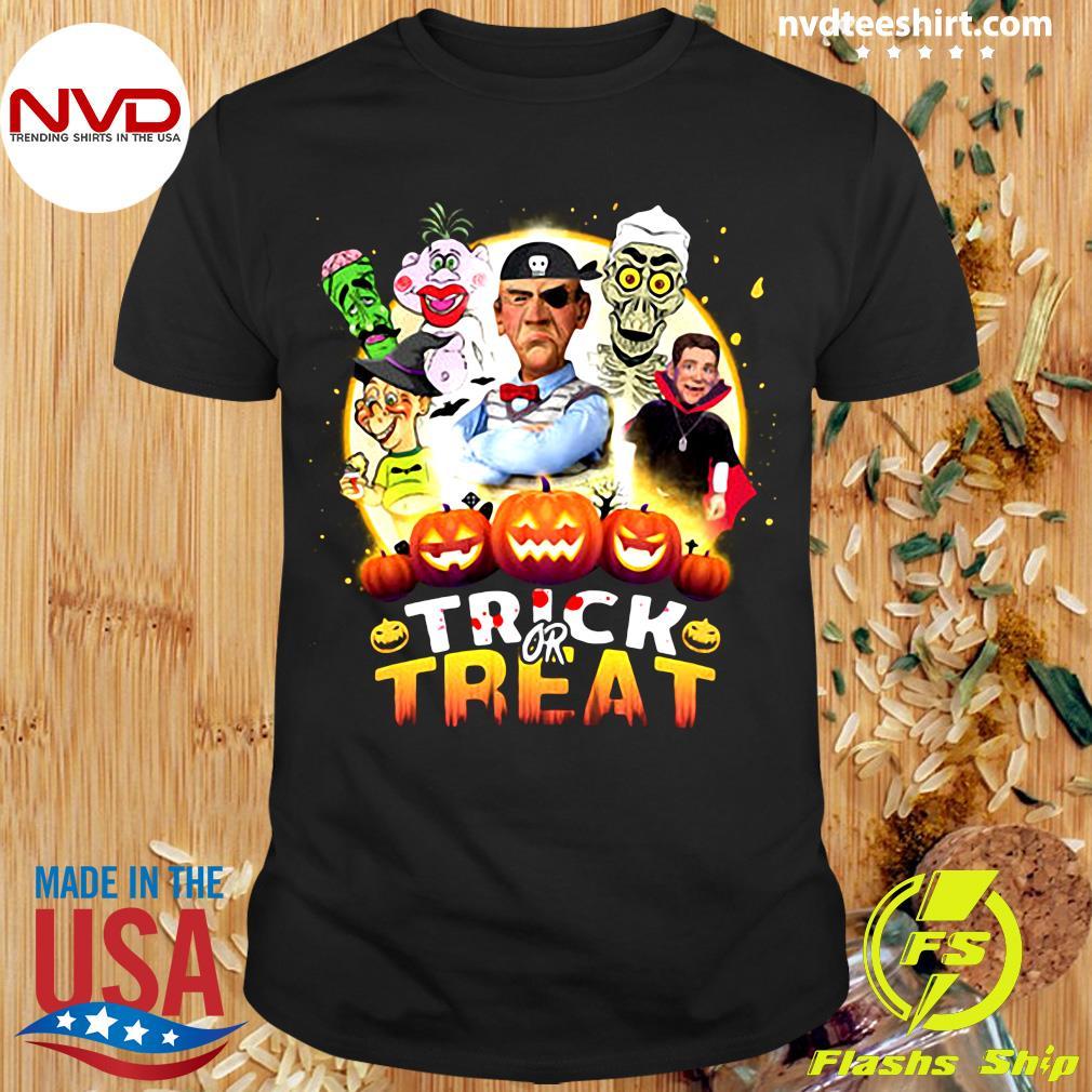 Trick Or Treat Halloween T-Shirt Masswerks Store