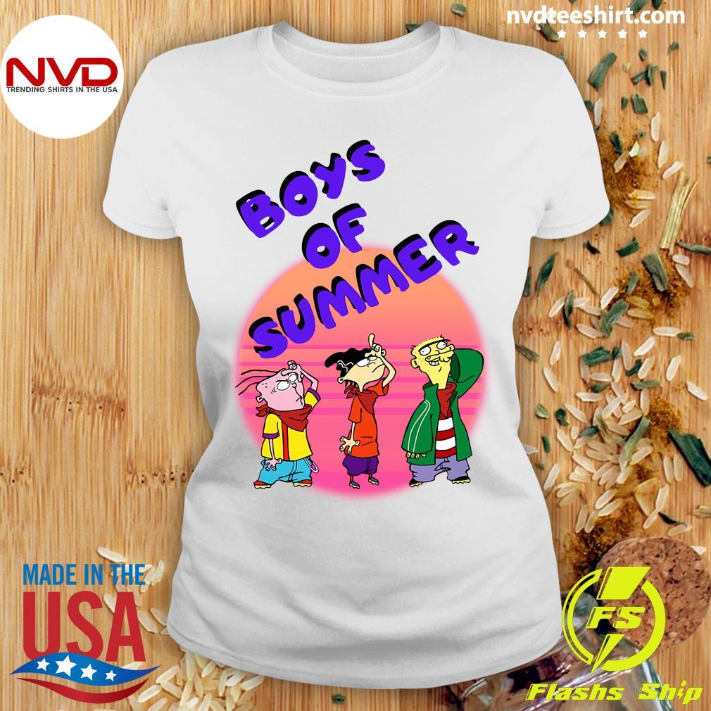 Ed Edd and Eddy Boys of Summer Shirt Ladies tee