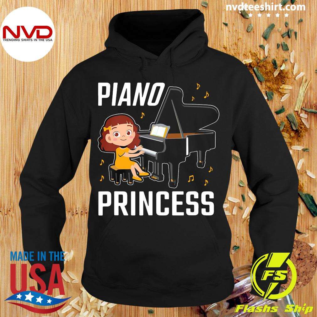 Funny Piano Princess Shirt Hoodie