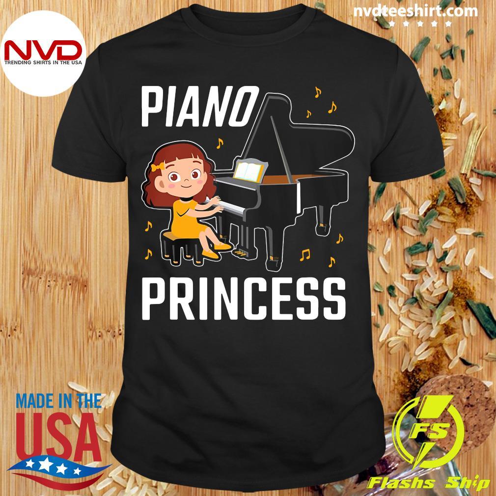 Funny Piano Princess Shirt