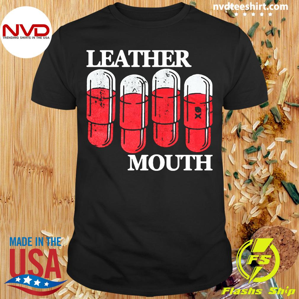 Leather Mouth Shirt