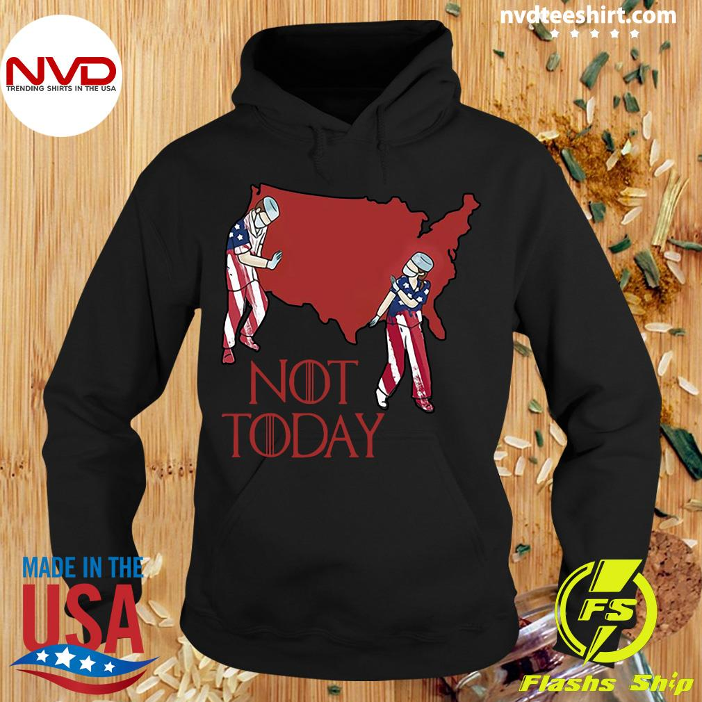 Official American Nurse Not Today 2020 Shirt Hoodie