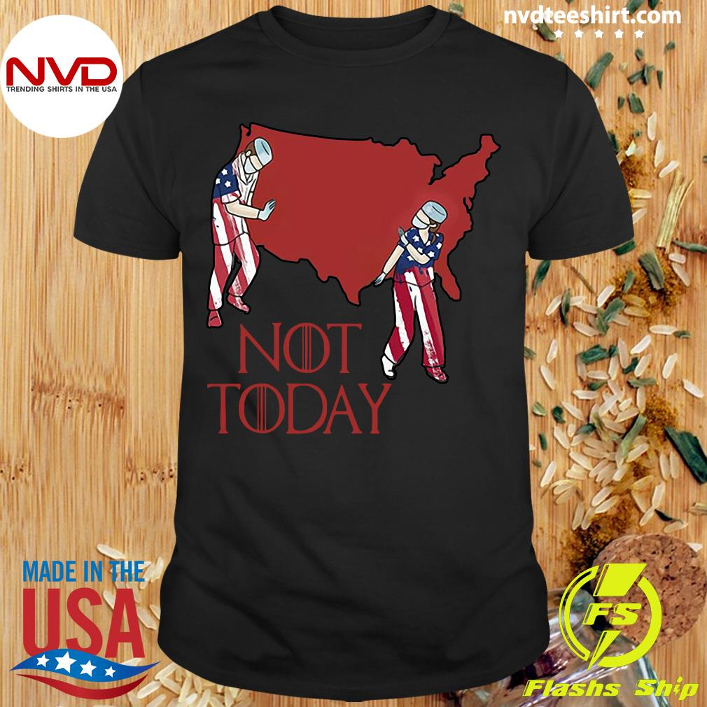Official American Nurse Not Today 2020 Shirt
