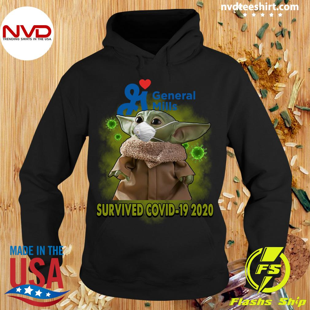 Official Baby Yoda General Mills Survived Covid19 2020 Shirt Hoodie