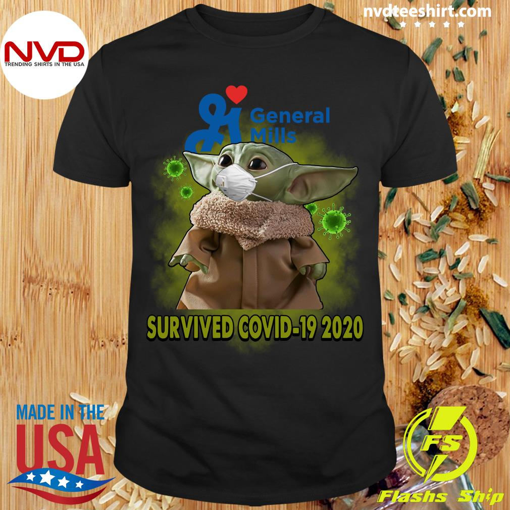 Official Baby Yoda General Mills Survived Covid19 2020 Shirt