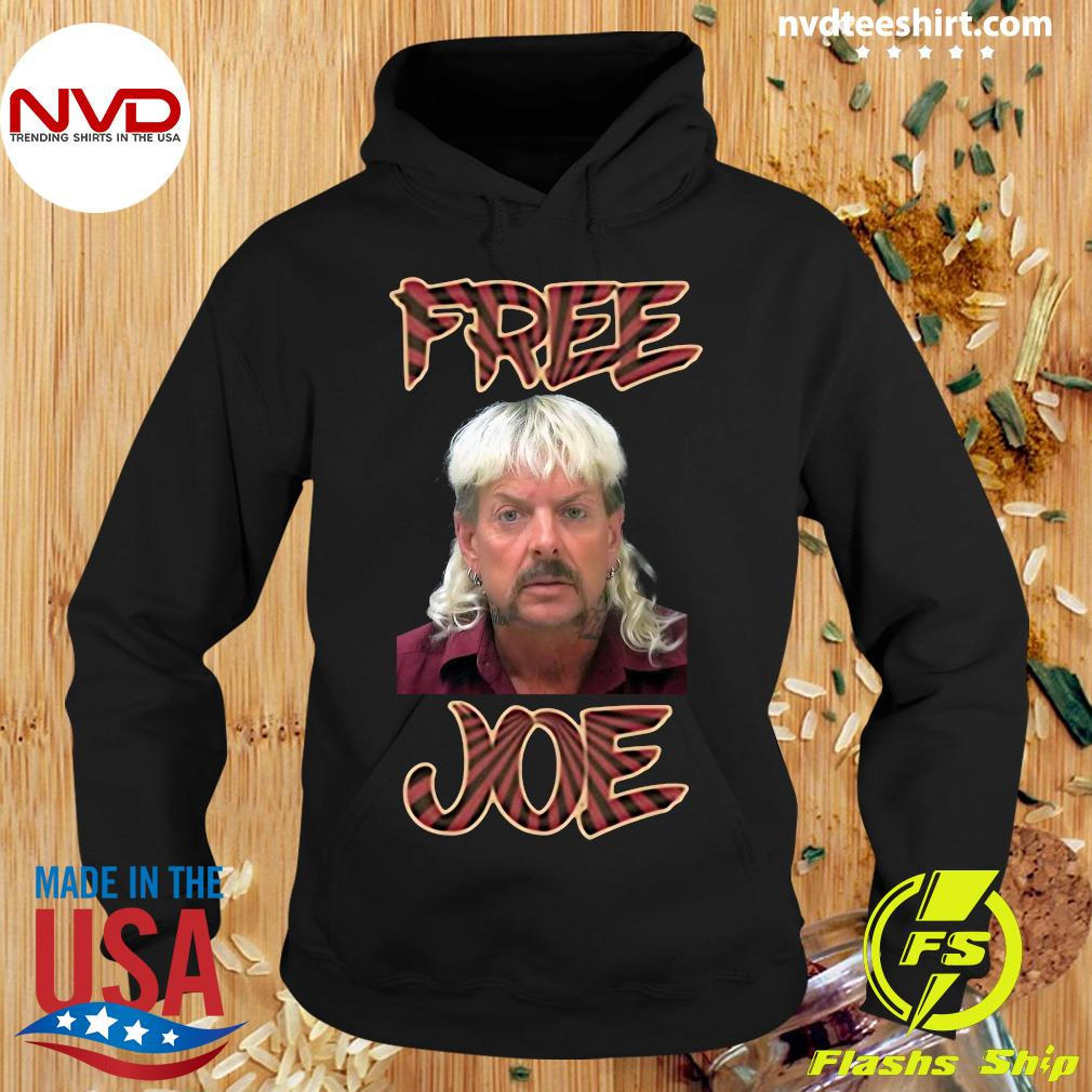 Official Free Joe Exotic Tiger King Pop Art Shirt Hoodie