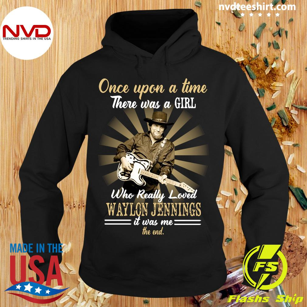 Official Girl Who Really Loved Waylon Jennings Shirt Hoodie