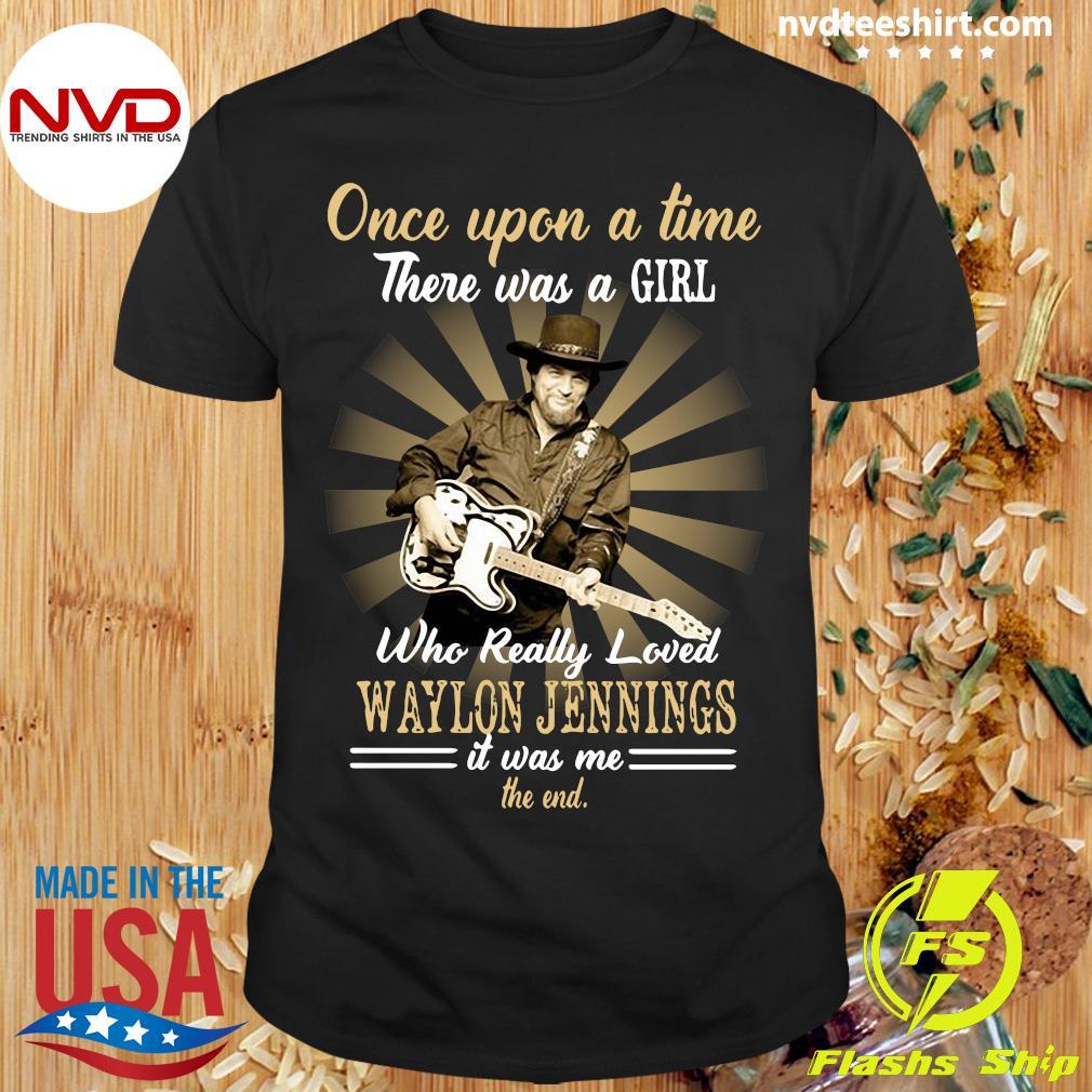 Official Girl Who Really Loved Waylon Jennings Shirt