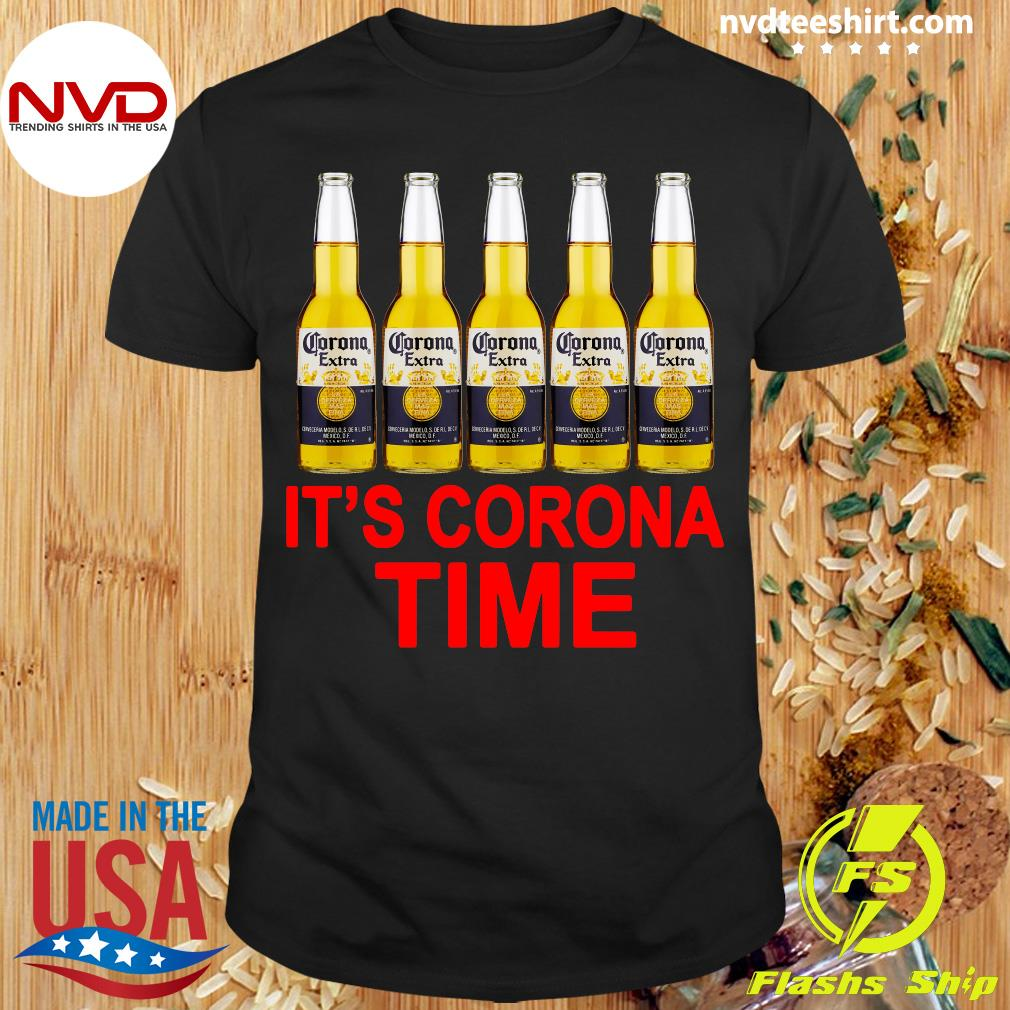 Official It's Corona Time Beer Shirt