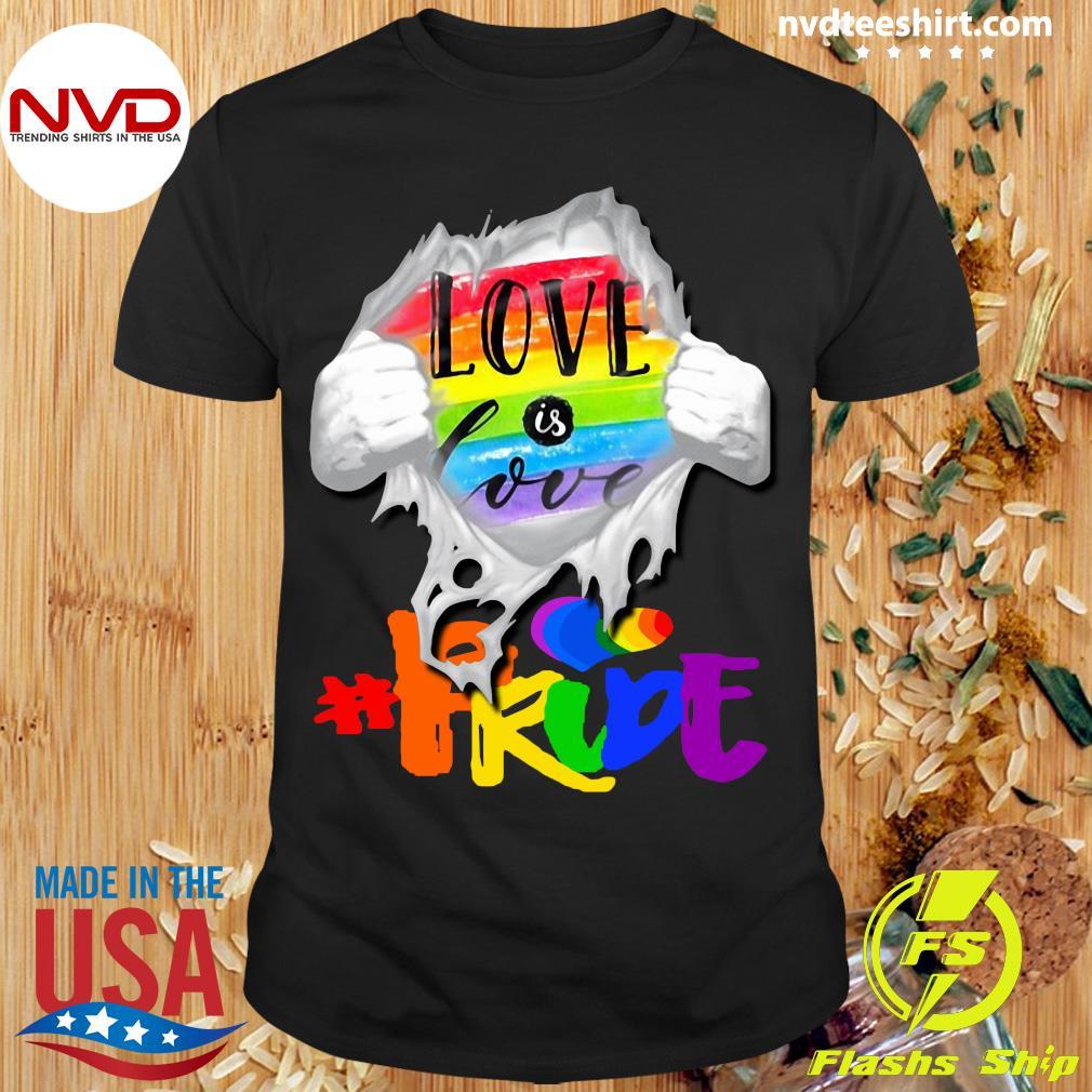 Official LGBT Love Is Love Shirt