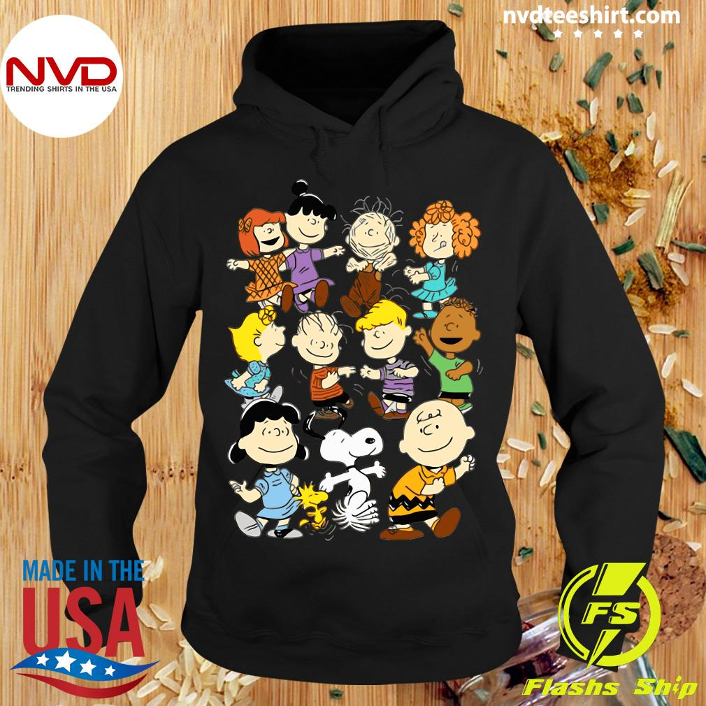 Official Snoopy and Charlie Brown Peanuts Friends Shirt Hoodie