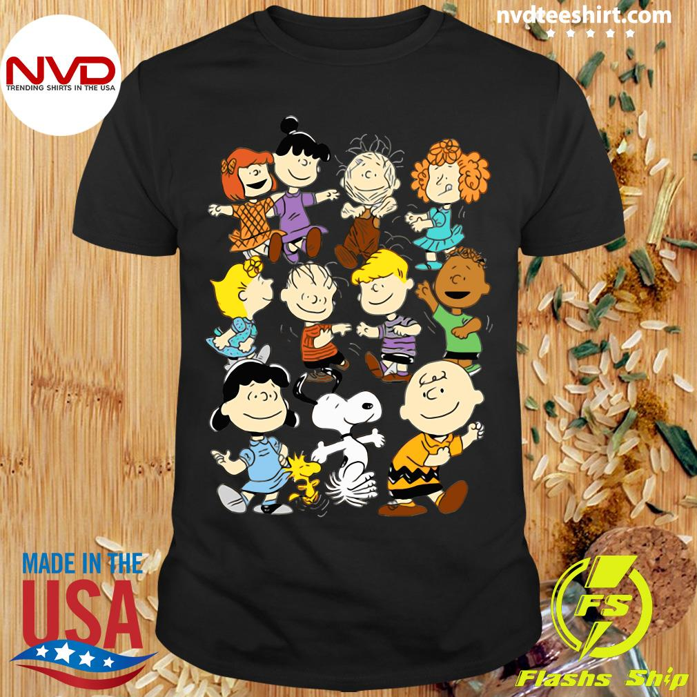 Official Snoopy and Charlie Brown Peanuts Friends Shirt
