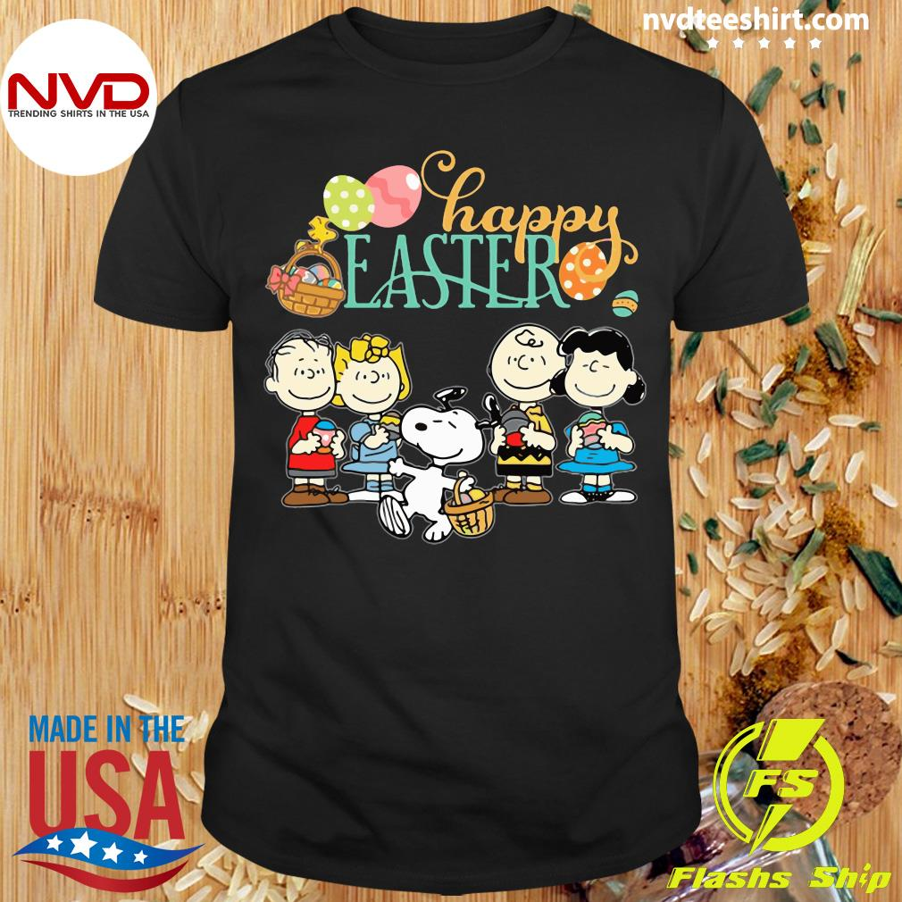 Official Snoopy Happy Easter Shirt
