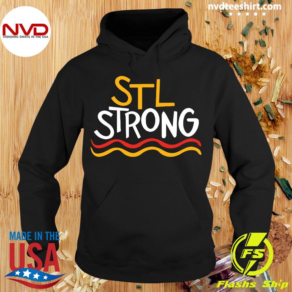 Official STL Strong Saint Louis 2020 Shirt Hoodie