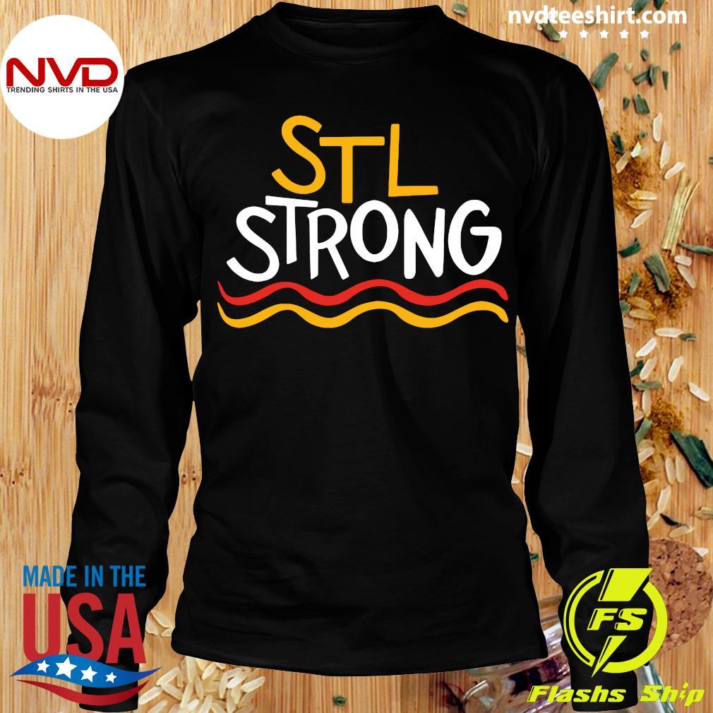 Official STL Strong Saint Louis 2020 Shirt Longsleeve