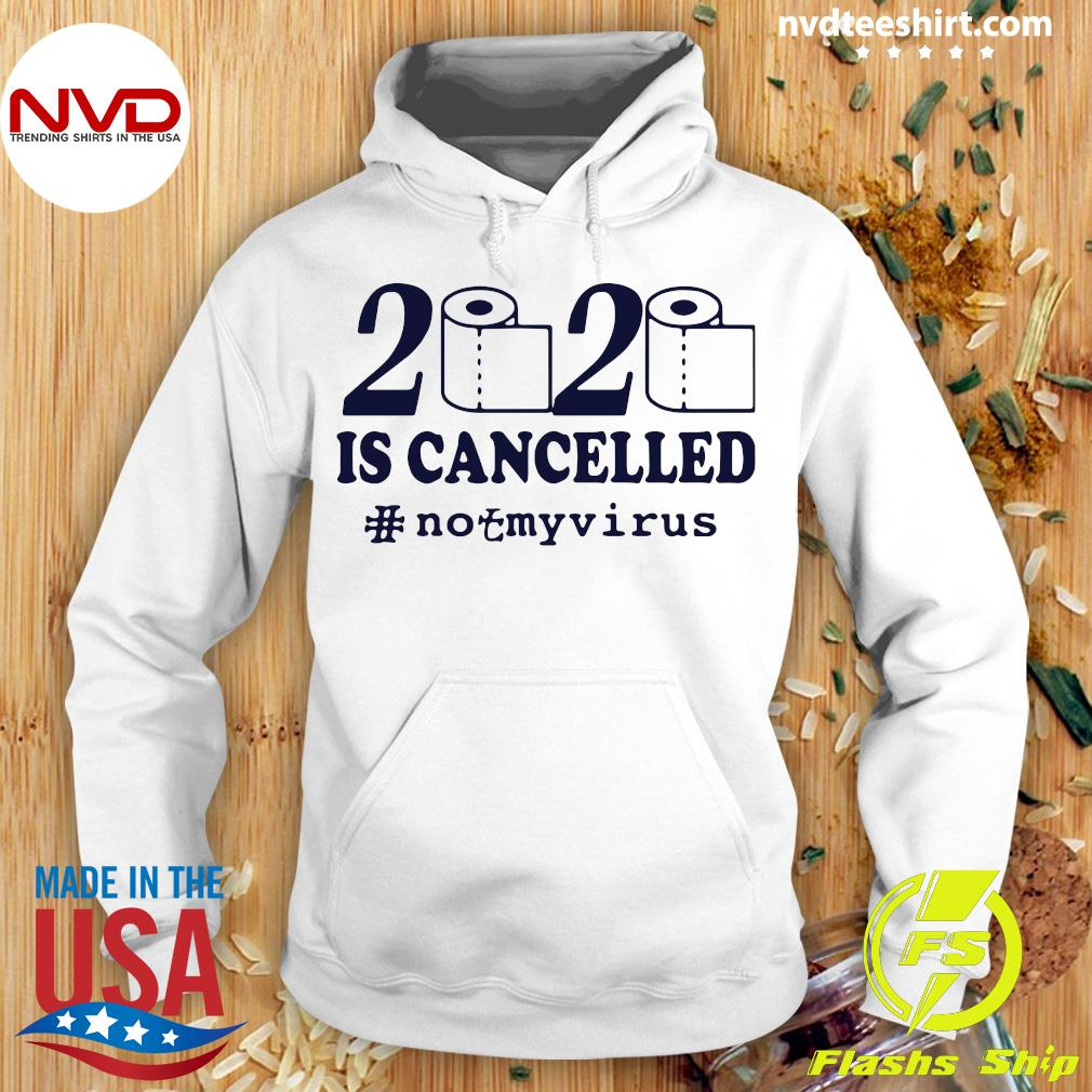 Official Toilet Paper 2020 Is Cancelled Corona Shirt Hoodie
