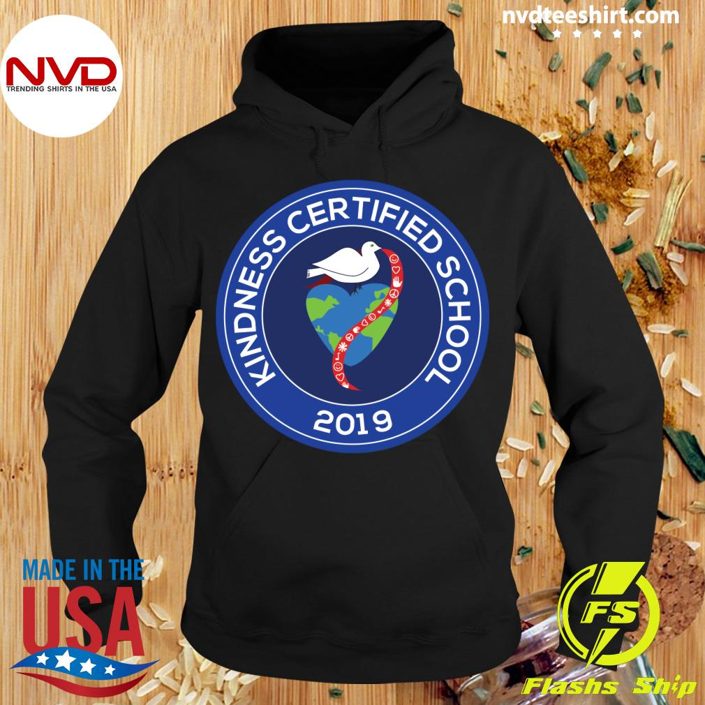 2019 Kindness Certified School Window Cling Shirt Hoodie