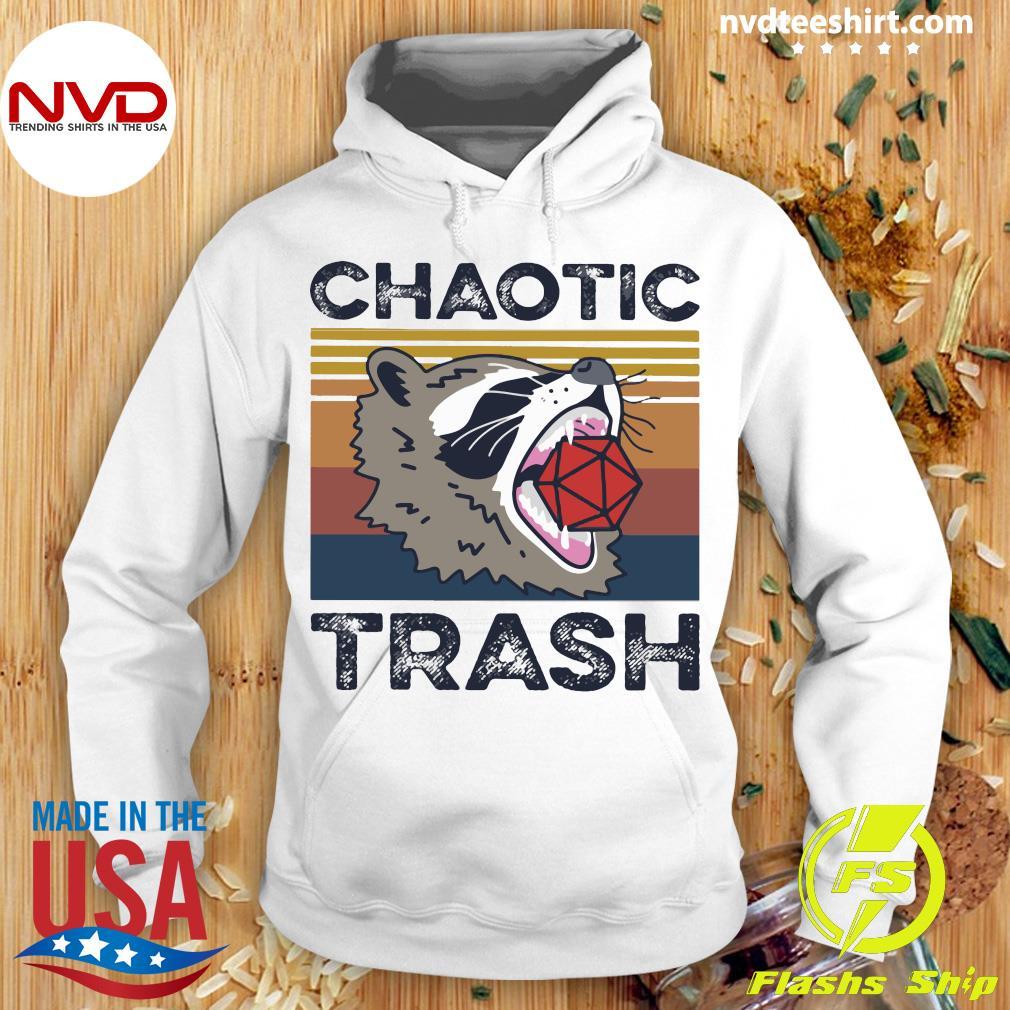Chaotic Trash Game Raccoon Shirt Hoodie