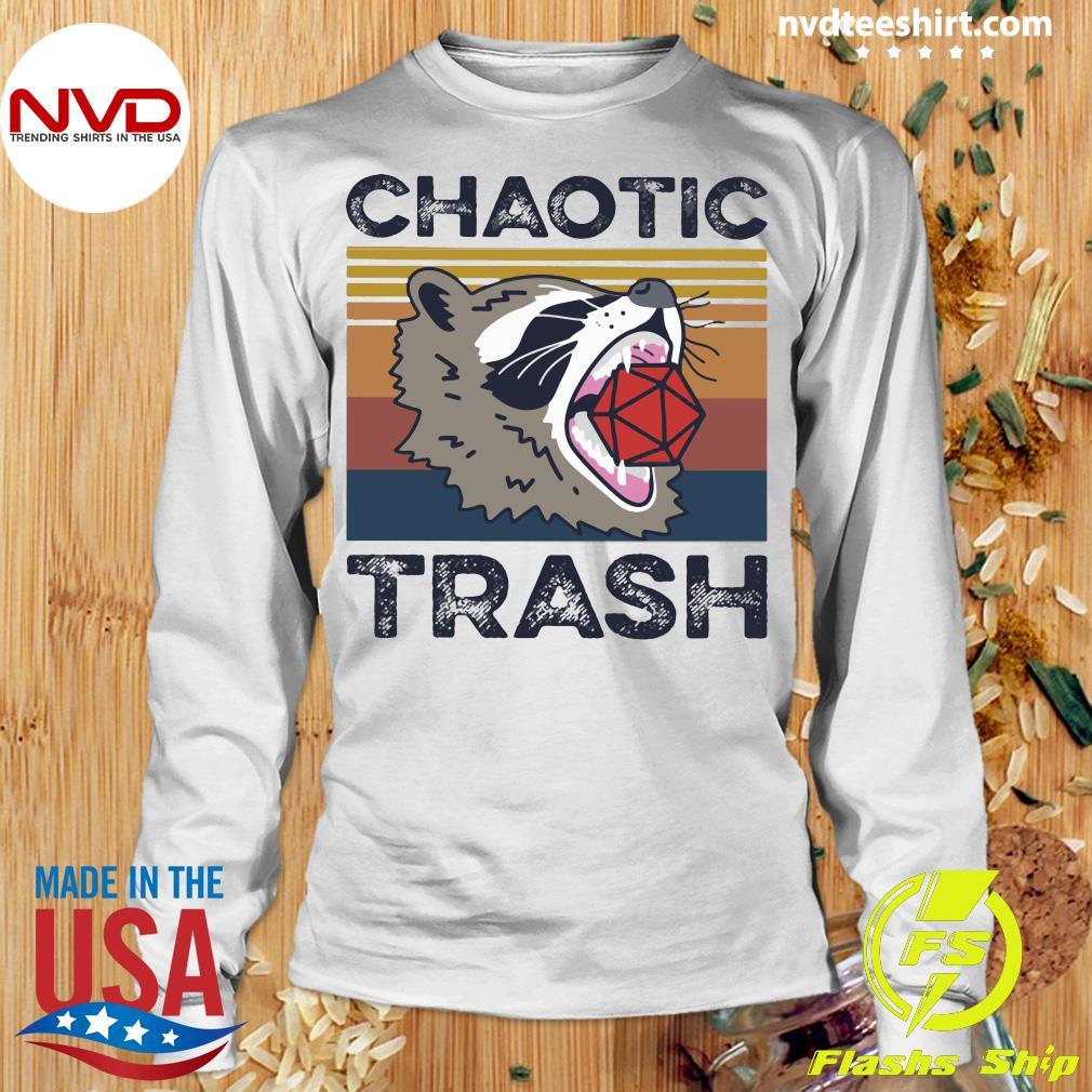Chaotic Trash Game Raccoon Shirt Longsleeve