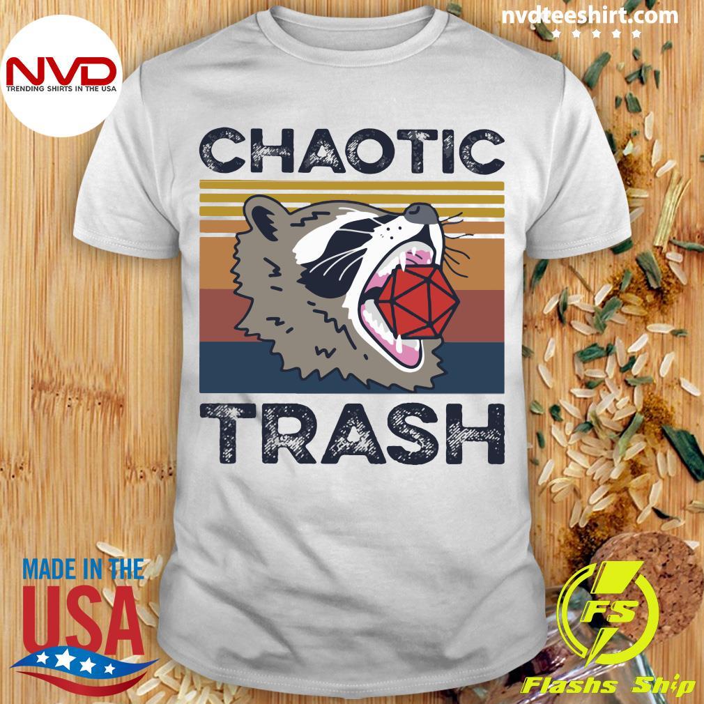 Chaotic Trash Game Raccoon Shirt
