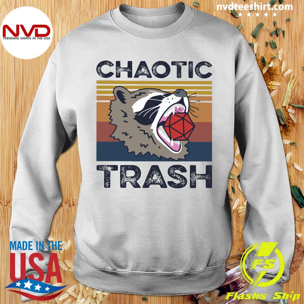 Chaotic Trash Game Raccoon Shirt Sweater