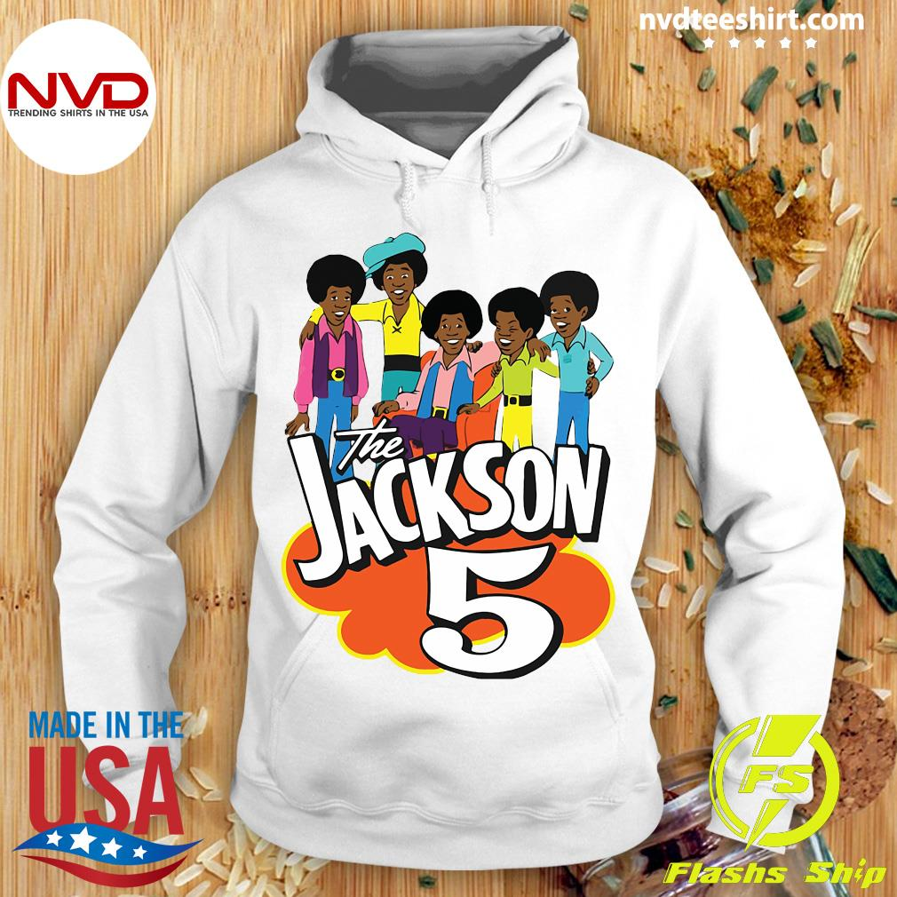 Clearlystyle The Jackson 5 Cartoon Vintage Shirt Hoodie