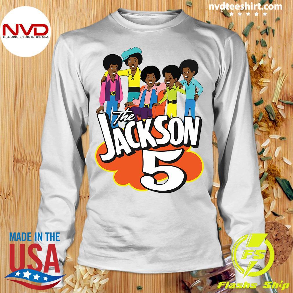 Clearlystyle The Jackson 5 Cartoon Vintage Shirt Longsleeve