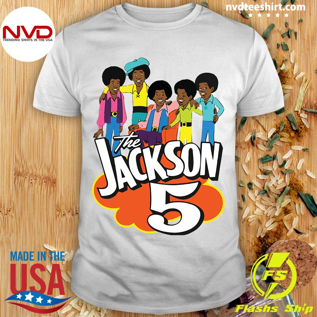 Clearlystyle The Jackson 5 Cartoon Vintage Shirt