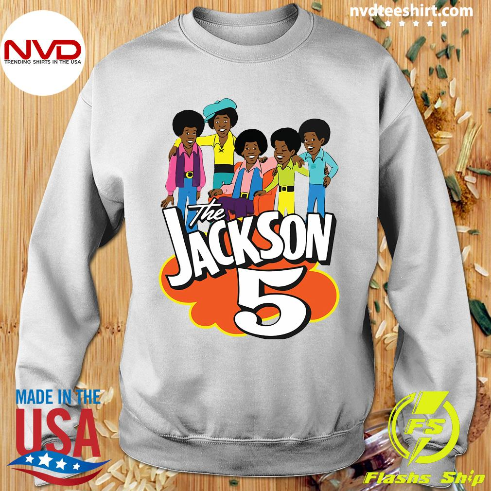 Clearlystyle The Jackson 5 Cartoon Vintage Shirt Sweater