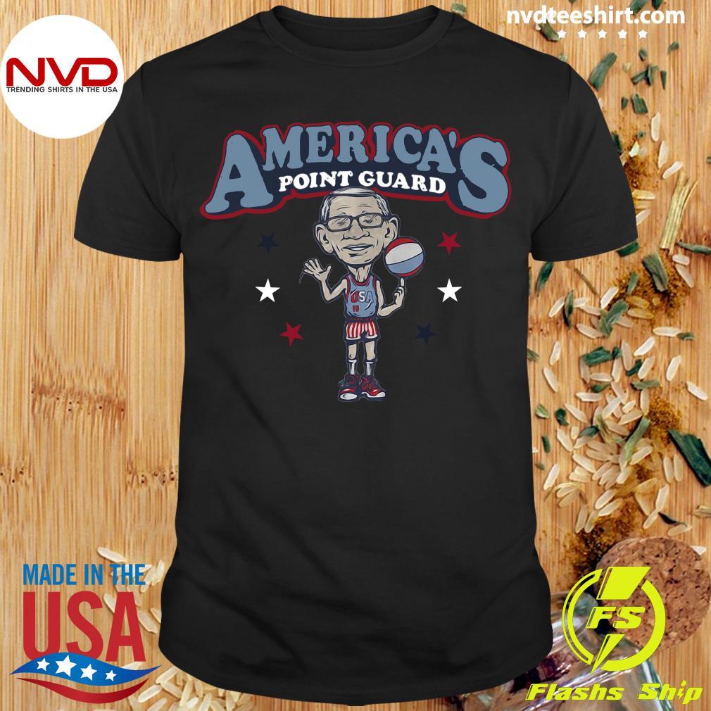 Official Americas Point Guard High School Basketball Shirt