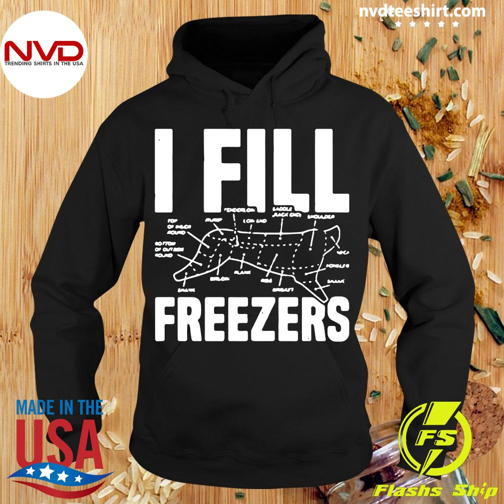 Official I Fill Freezers Shirt Hoodie
