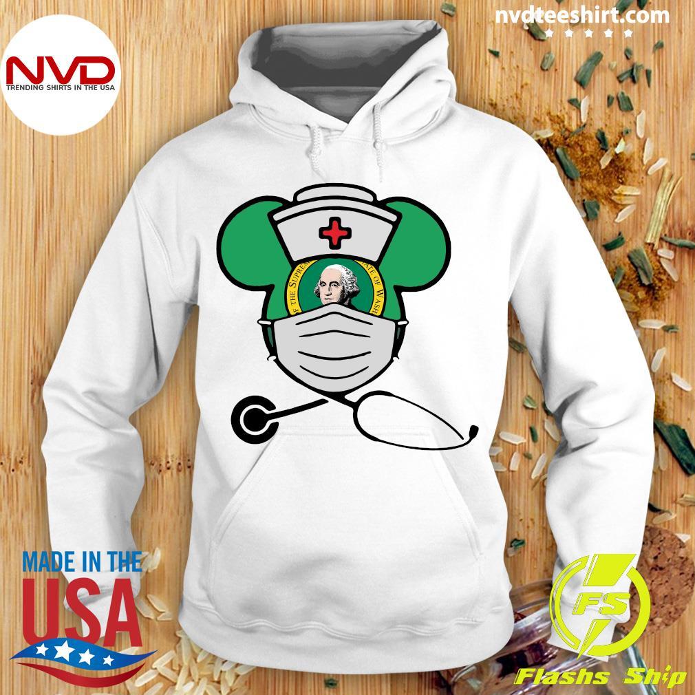 Official Mickey Nurse Face Mask George Washington Shirt Hoodie