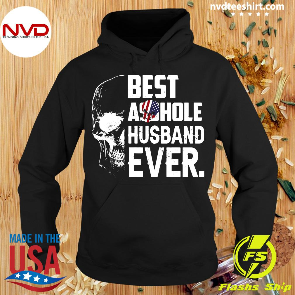 Best Assohle Husband Ever Skull Shirt Hoodie