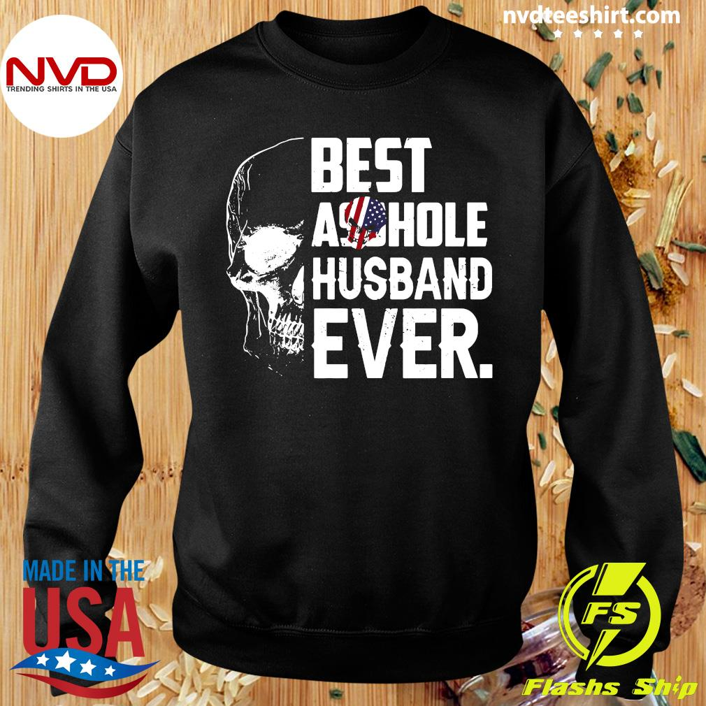 Best Assohle Husband Ever Skull Shirt Sweater