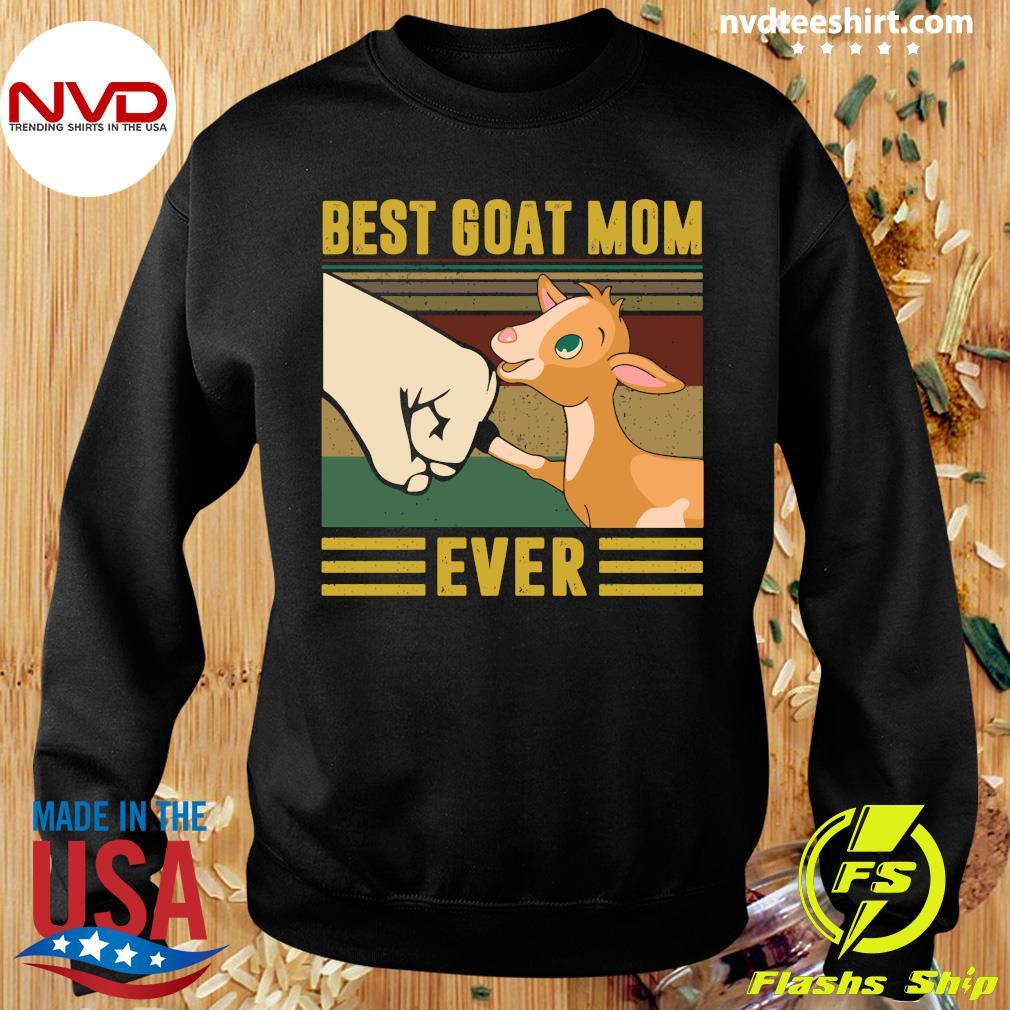 Best Goat Mom Ever Vintage Shirt Sweater