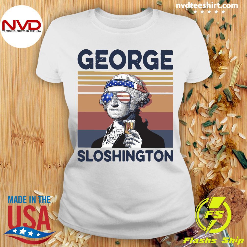 George Sloshington Vintage Shirt Ladies tee