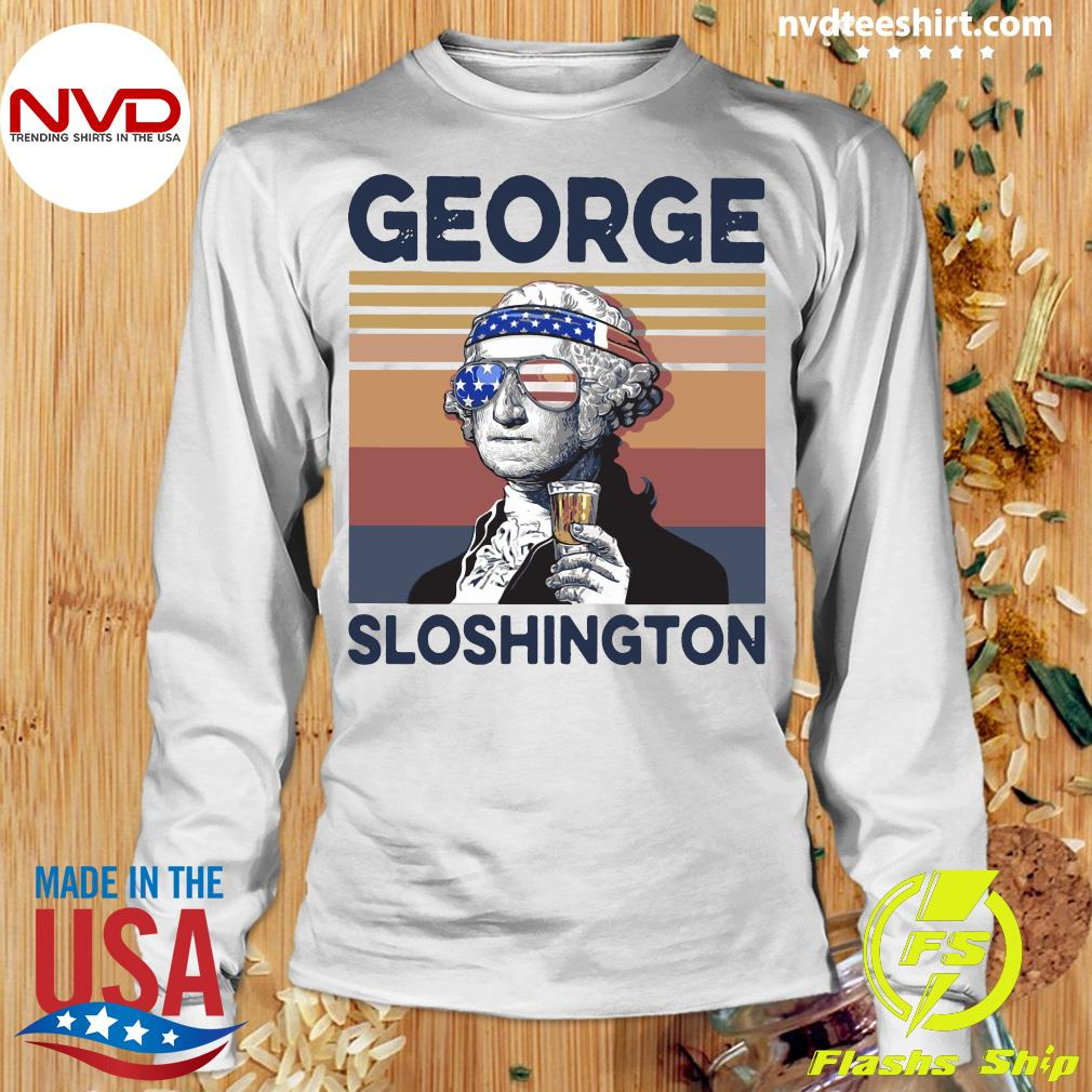 George Sloshington Vintage Shirt Longsleeve