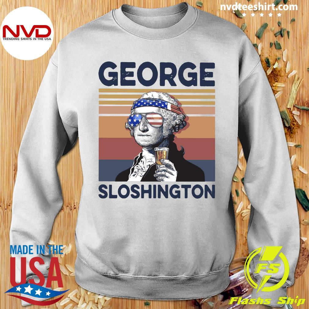 George Sloshington Vintage Shirt Sweater