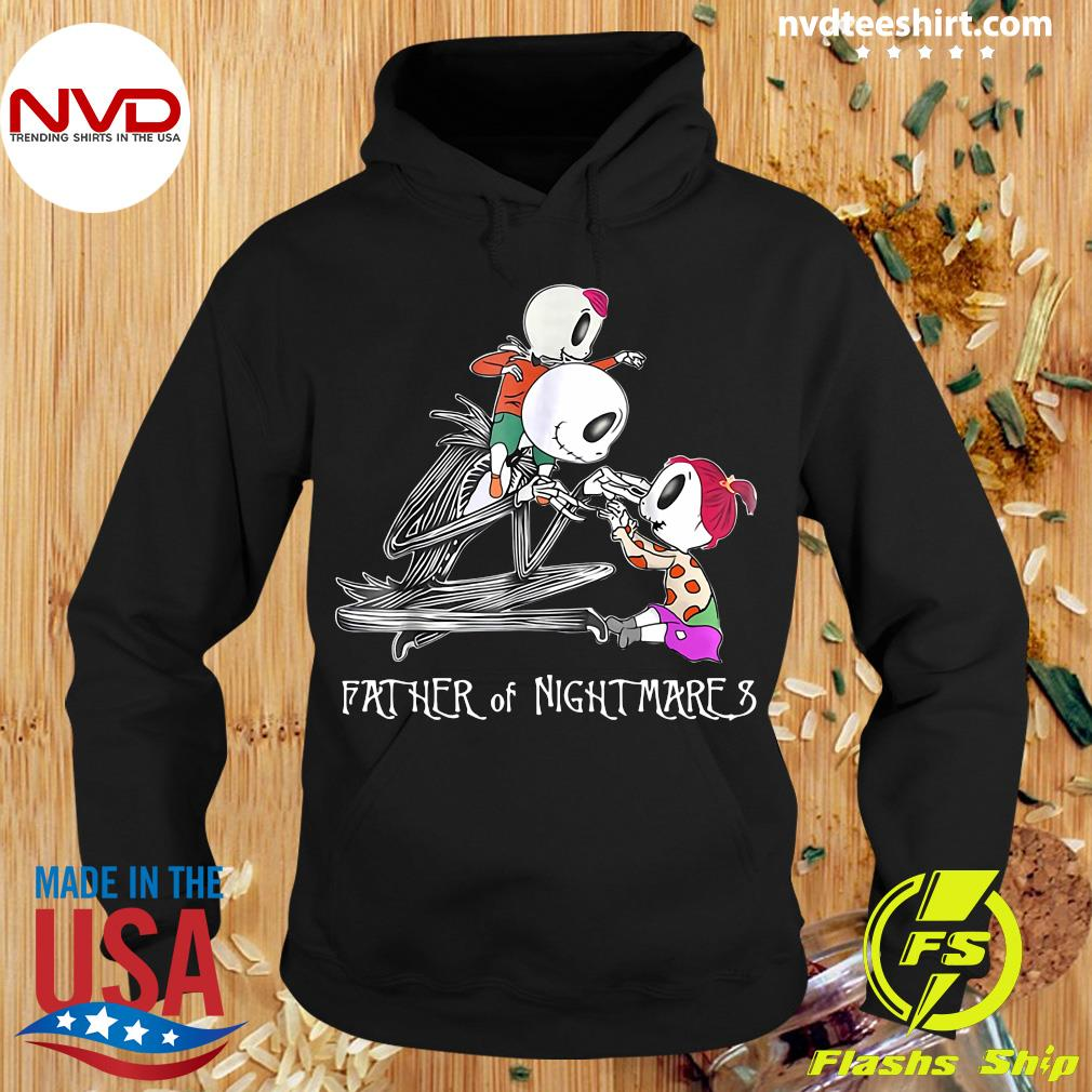 Jack Skellington Hugs Babies Father Of Nightmare Shirt Hoodie