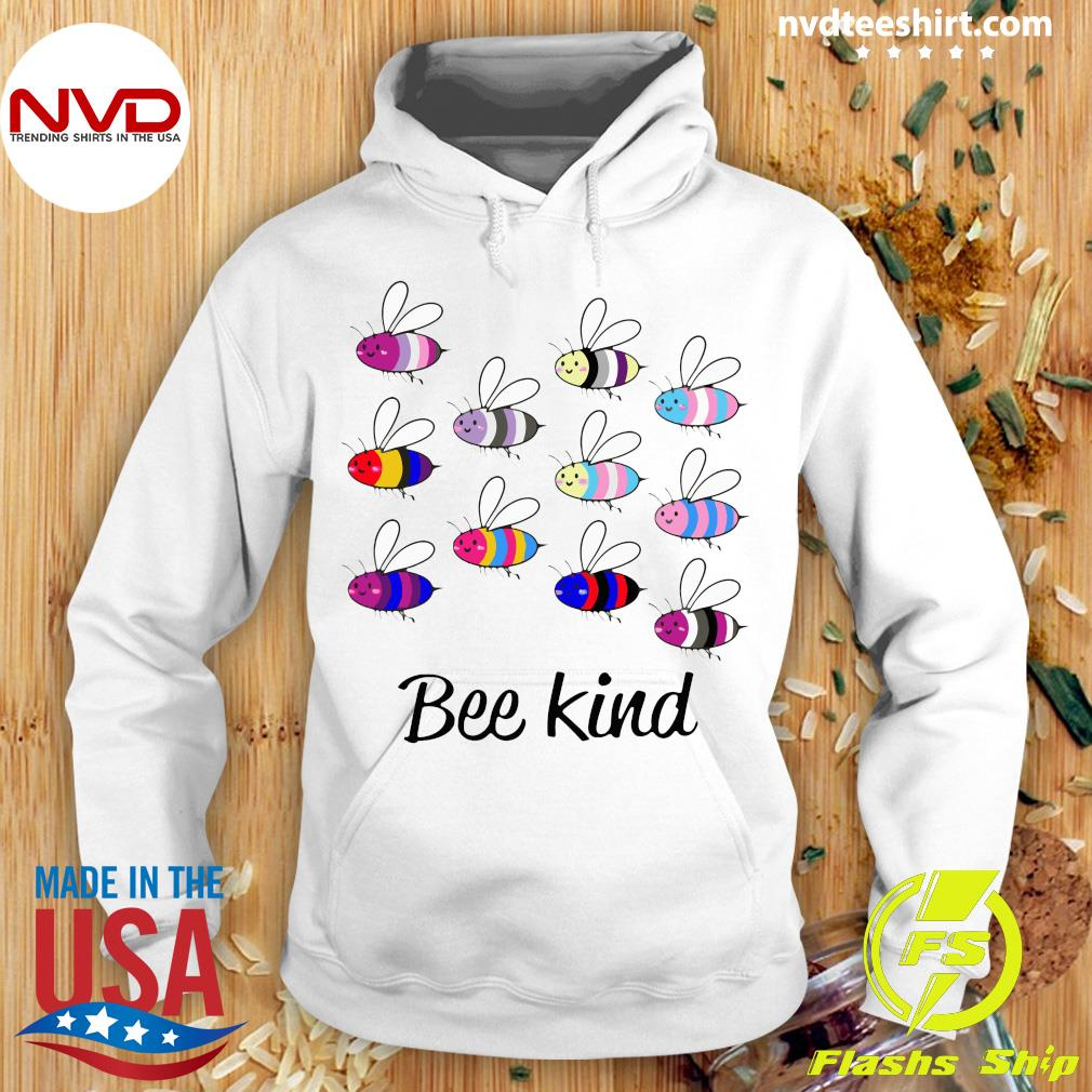 LGBT Bee Kind Gay Pride Shirt Hoodie