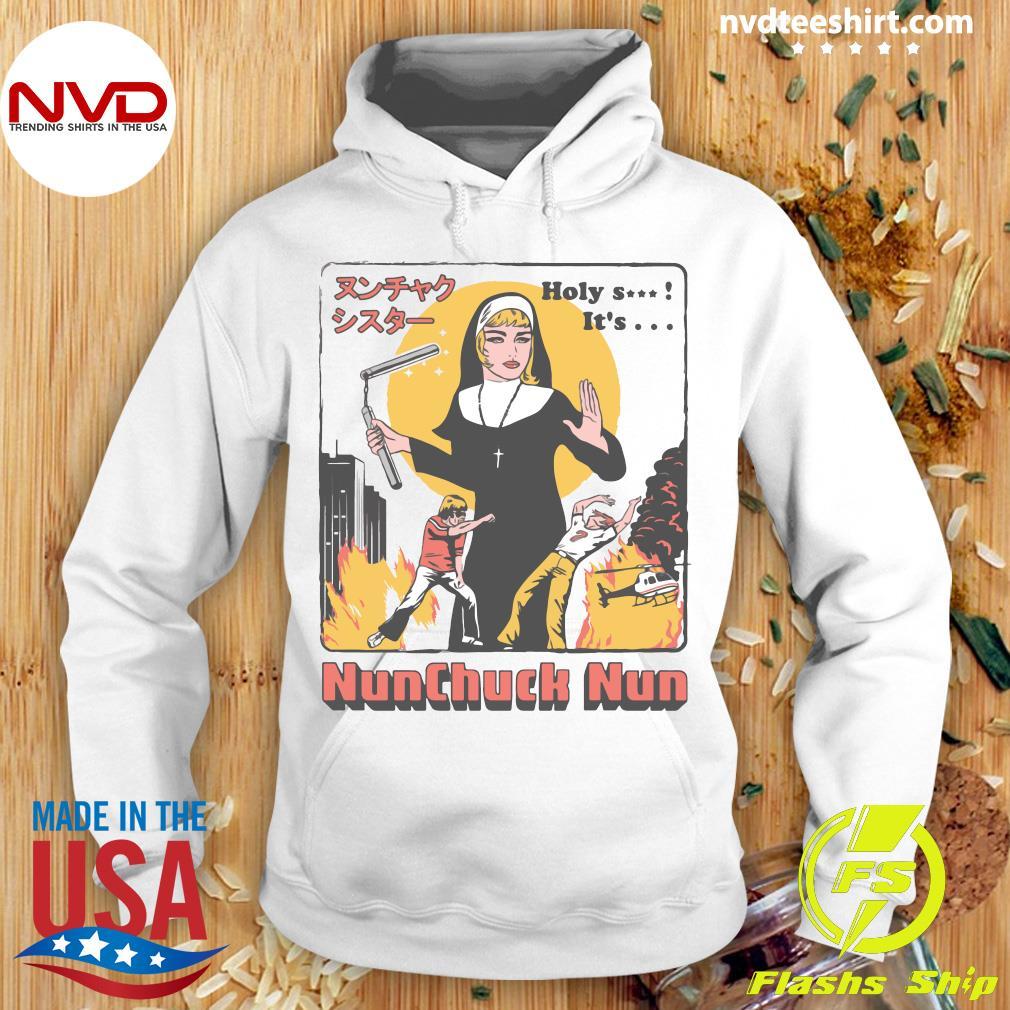 Nunchuck Nun Tarantino Shirt Hoodie