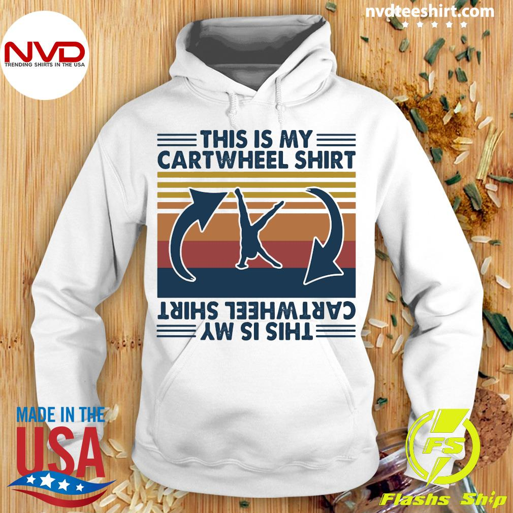Official Gymnastic This Is My Cartwheel Shirt Hoodie