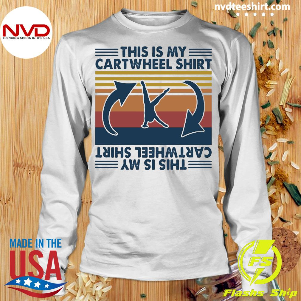 Official Gymnastic This Is My Cartwheel Shirt Longsleeve