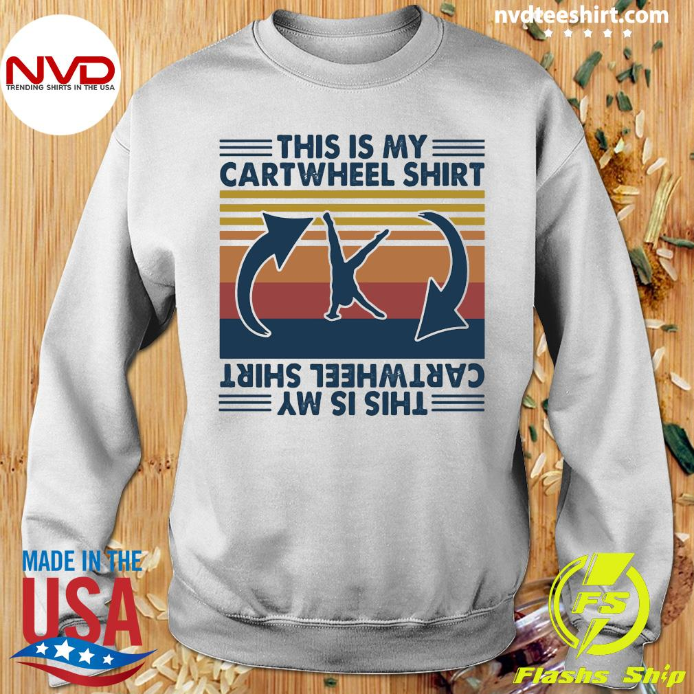 Official Gymnastic This Is My Cartwheel Shirt Sweater