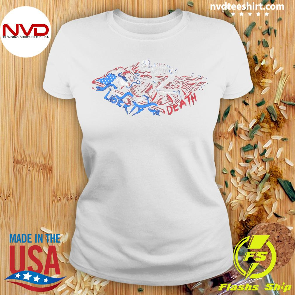 The Choice Liberty or Death Vintage Shirt Ladies tee
