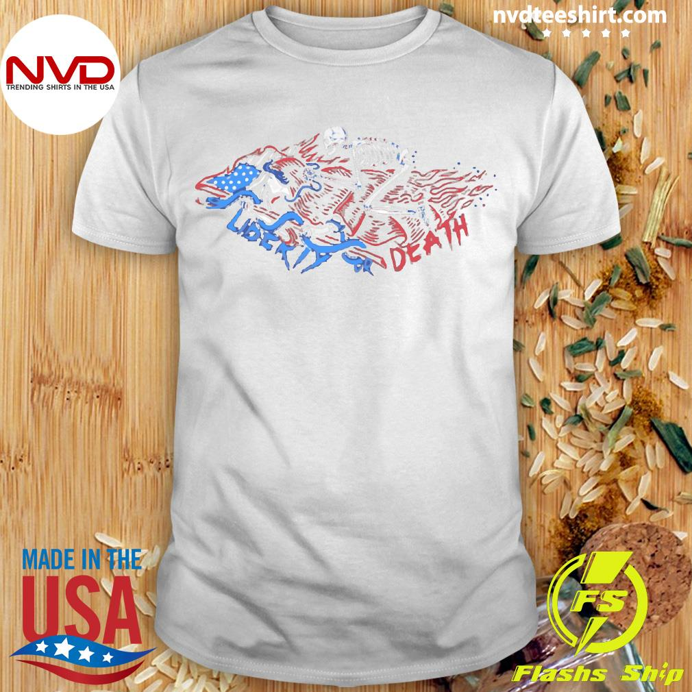 The Choice Liberty or Death Vintage Shirt