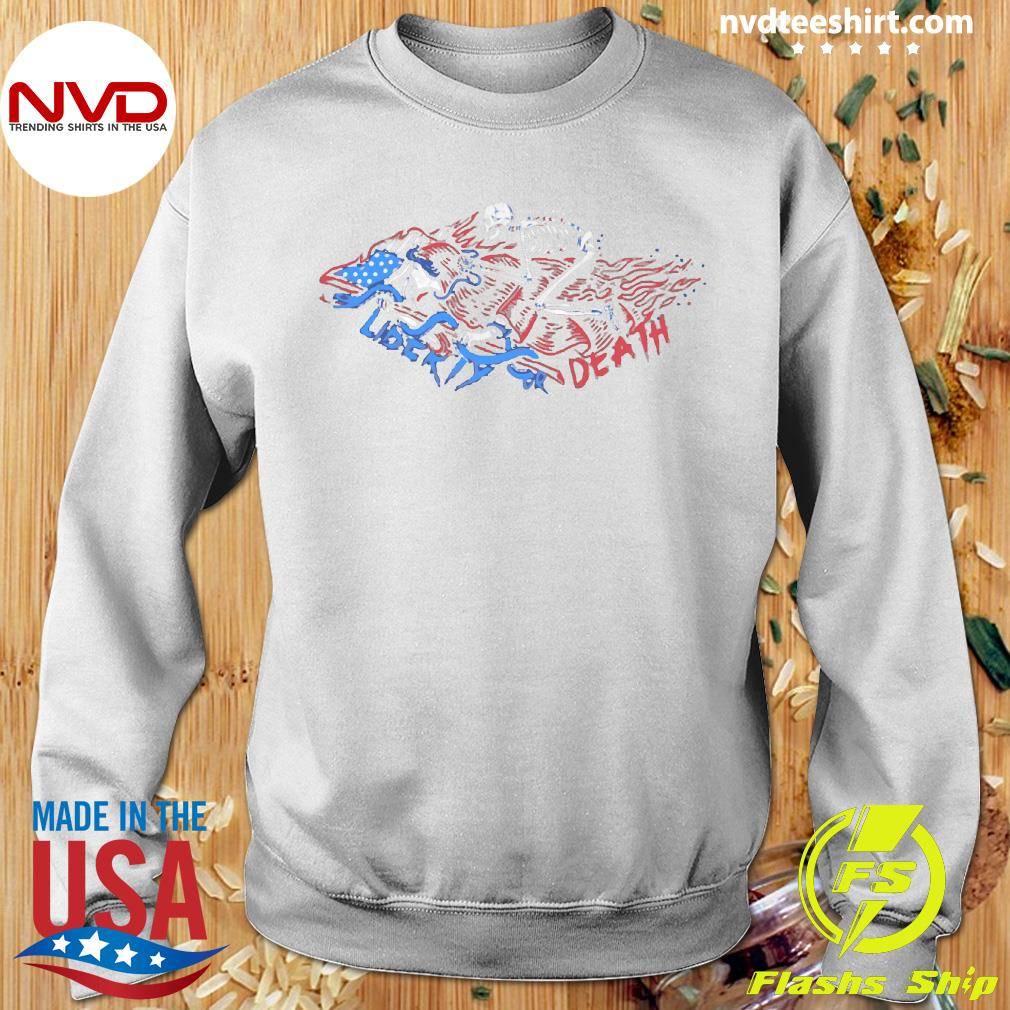 The Choice Liberty or Death Vintage Shirt Sweater