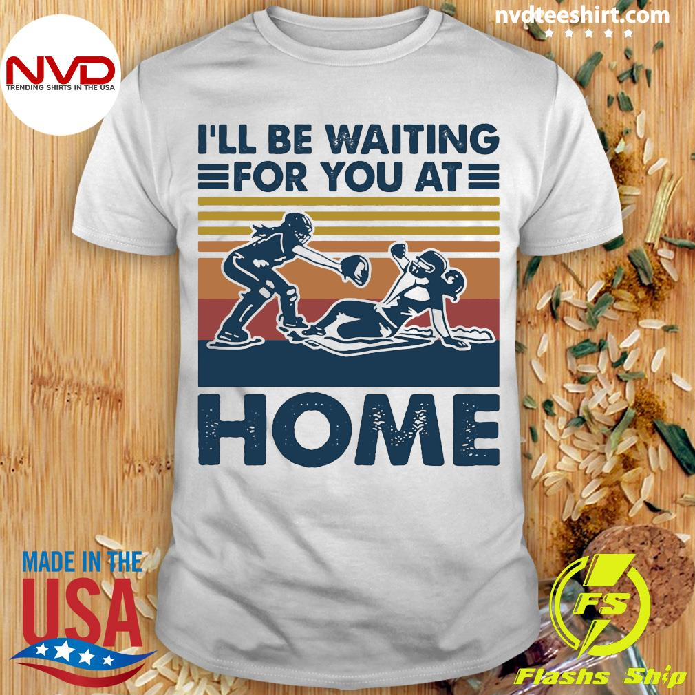 Vintage I'll Be Waiting For You At Home Rugby Shirt